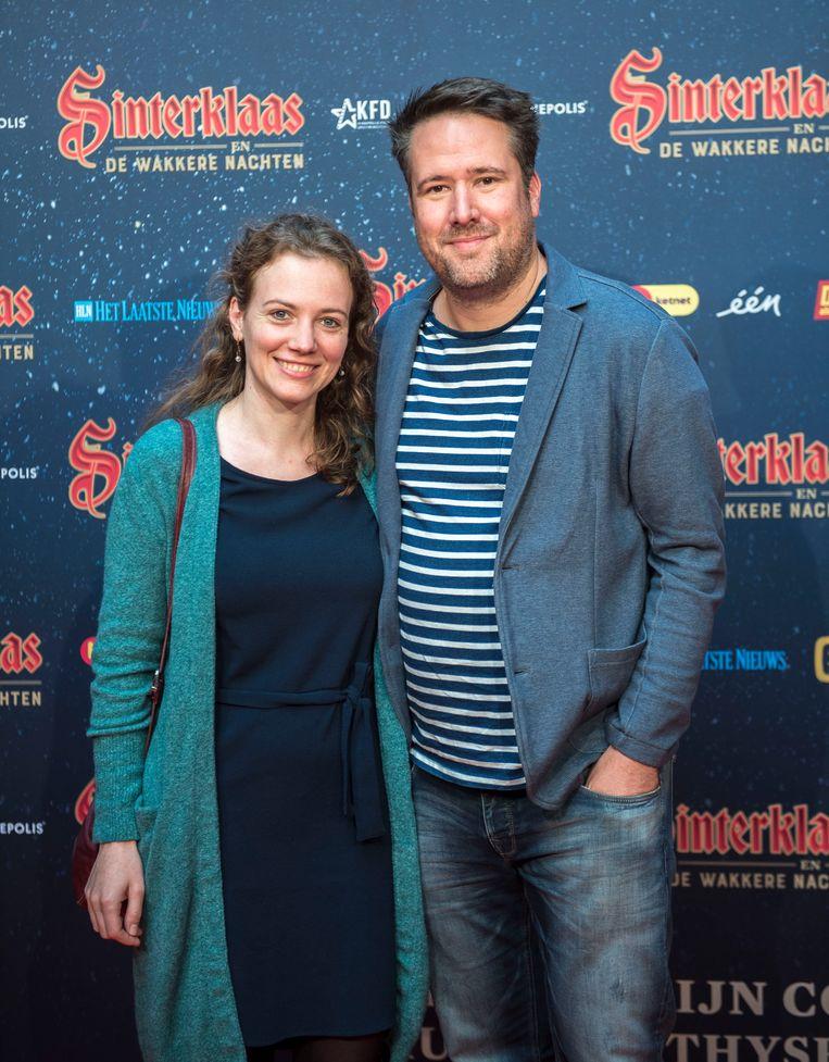 'Thuis'-acteur Raf Jansen poseerde voor het eerst met zijn vriendin Anneleen.