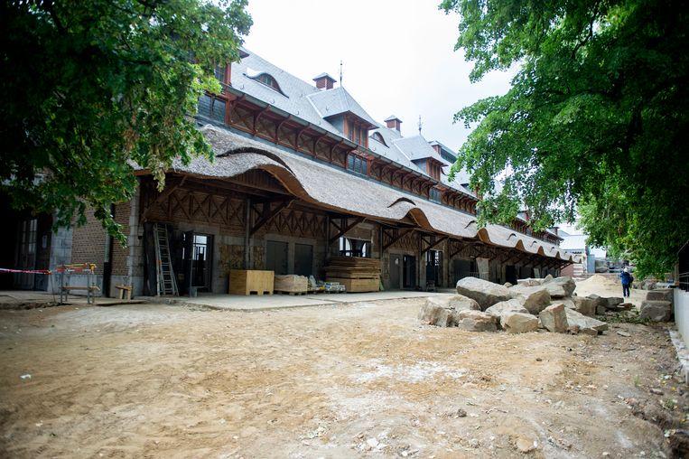 Het historische Rundergebouw zal de nieuwe thuis zijn voor de neushoorns
