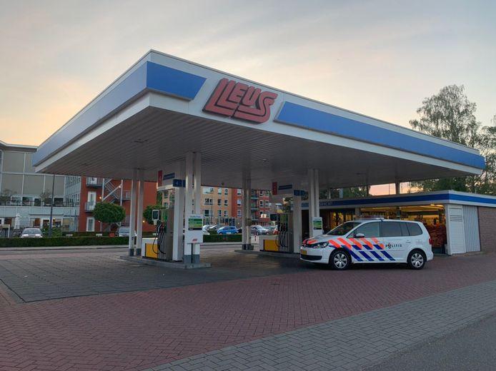Het overvallen tankstation