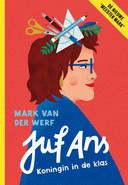 Boekcover van 'Juf Ans, koningin in de klas'. Het boek verschijnt donderdag 22 oktober 2020.
