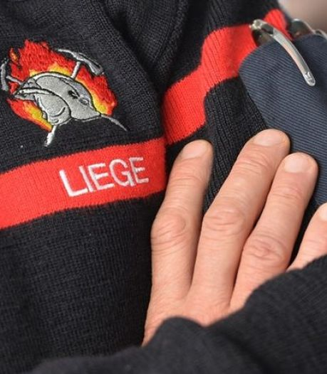 Les pompiers de Liège ont distribué du chocolat aux soignants de la Citadelle