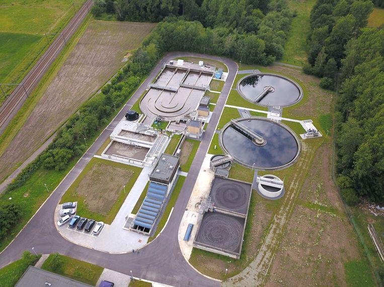 Waterzuiveringsstation Bilzen  foto : Nico Van Gestel