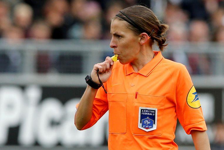 Franse scheidsrechter Stéphanie Frappart. Beeld REUTERS