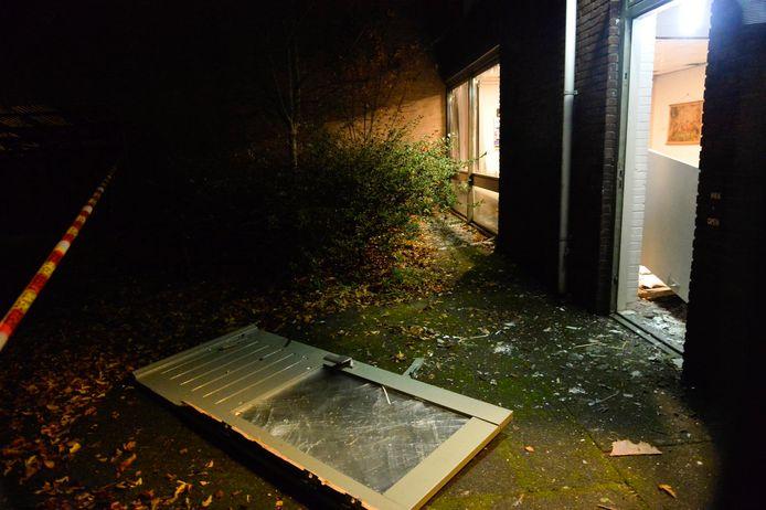 Grote schade aan de Markuskerk in Breda.