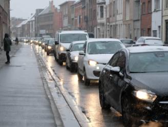 Verkeershinder in Nekkerspoelstraat: filevorming kan tot en met dinsdag duren