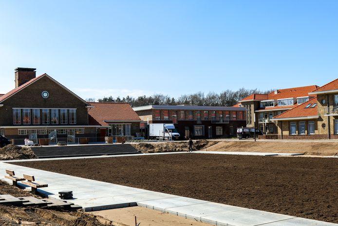 Het nieuwbouwproject in de Elias Beeckmankazerne in Ede.