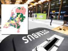 Kijk op deze kaart hoe jouw gemeente heeft gestemd bij de Europese verkiezingen