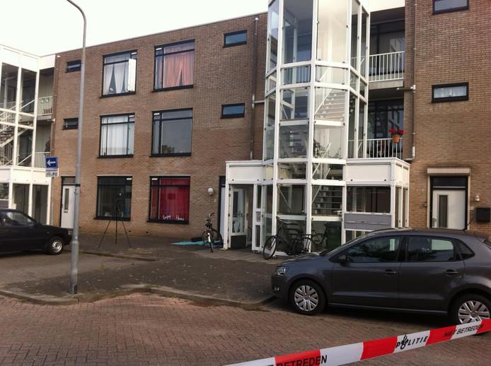 Woning aan de Anjelierenlaan in Vlissingen.