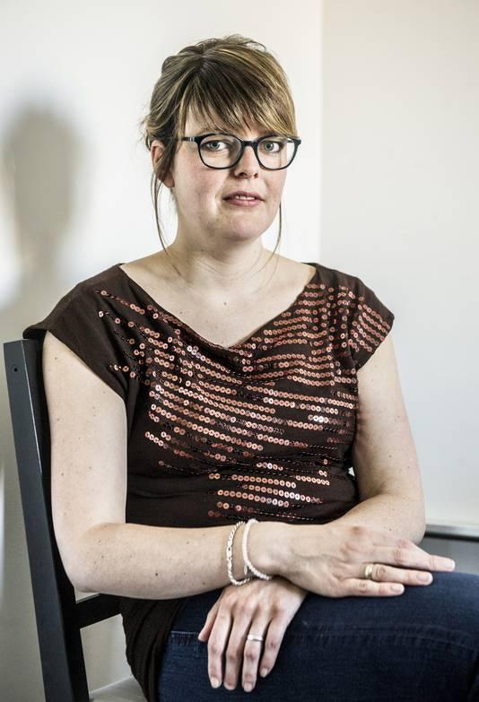 Sandra van Oorschot-Siegers (29) heeft geregeld te maken met verbale en fysieke agressie.