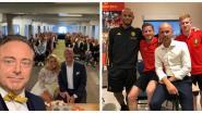 SHOWBITS. Meneer de burgemeester zegent Gerts huwelijk in en sporthelden ontmoeten elkaar