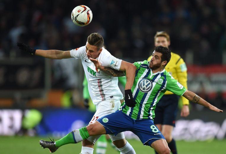 Wolfsburg speelt gelijk. Beeld afp