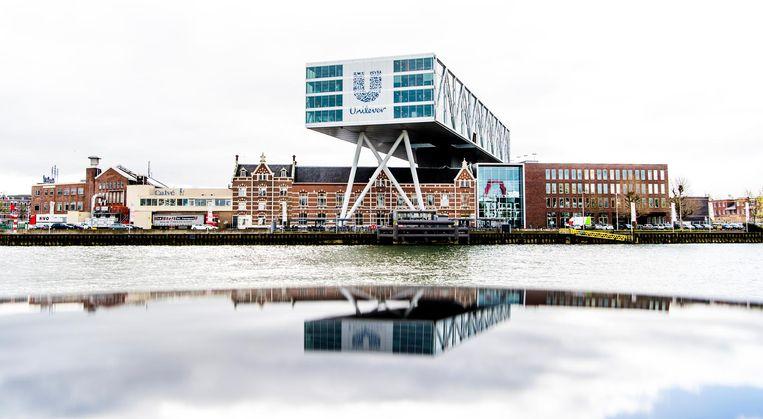 Unilever aan de Nassaukade in Rotterdam. Beeld anp