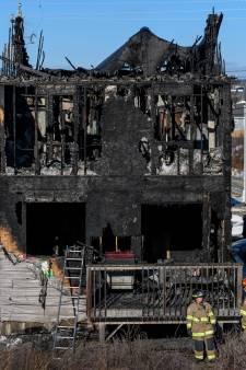Ouders verliezen zeven kinderen bij grote huisbrand