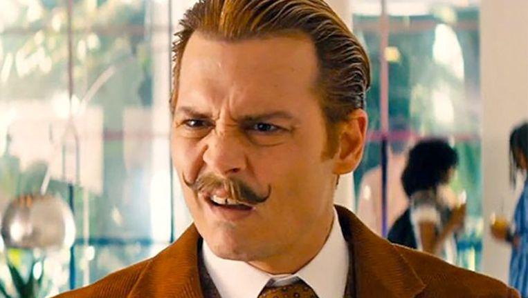 Johnny Depp viel als 'Charlie Mortdecai' niet in de smaak bij de jury.