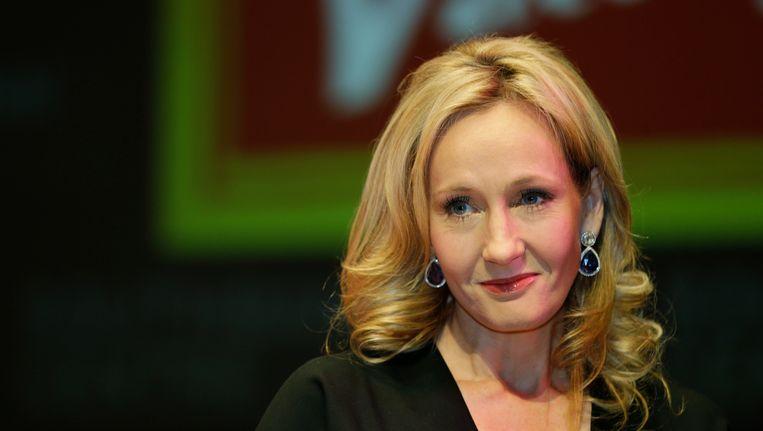 J.K. Rowling in september vorig jaar. Beeld AP