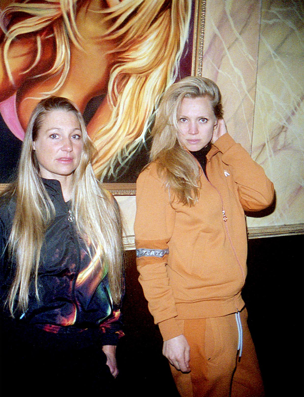 Jolene (links) met filmmaker Elza Jo. Beeld Elza Jo