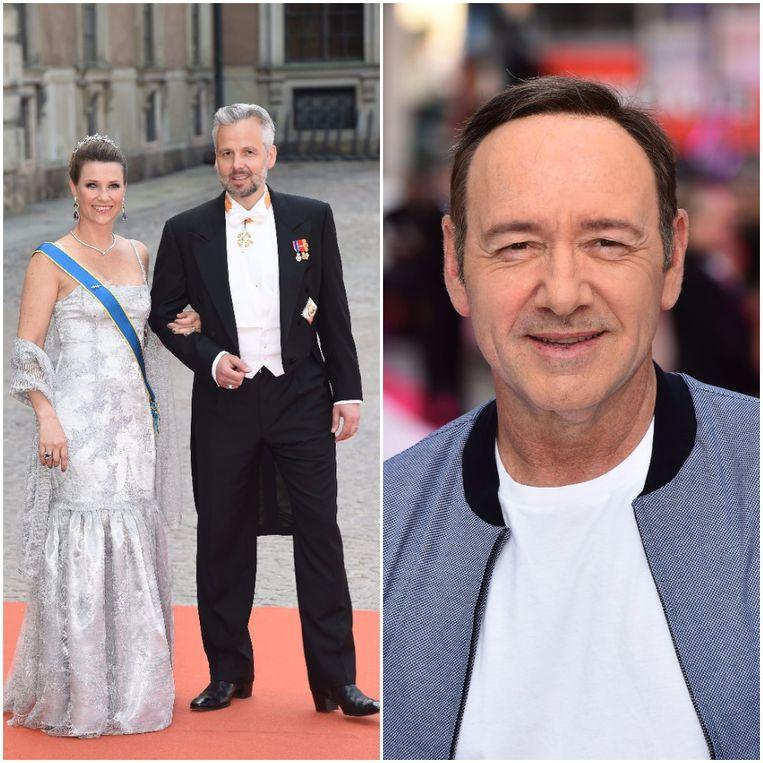 Ari Behn en de Noorse prinses Märtha Louise waren vijf jaar getrouwd toen Kevin Spacey het lid van de koninklijke familie oneerbaar betastte.