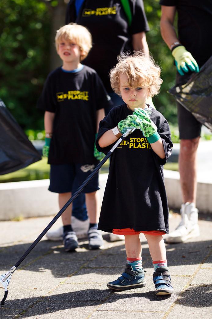 De eerste City Clean-Up werd in Den Haag gehouden