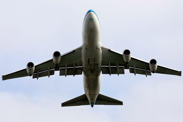 Een KLM-toestel (ANP) Beeld