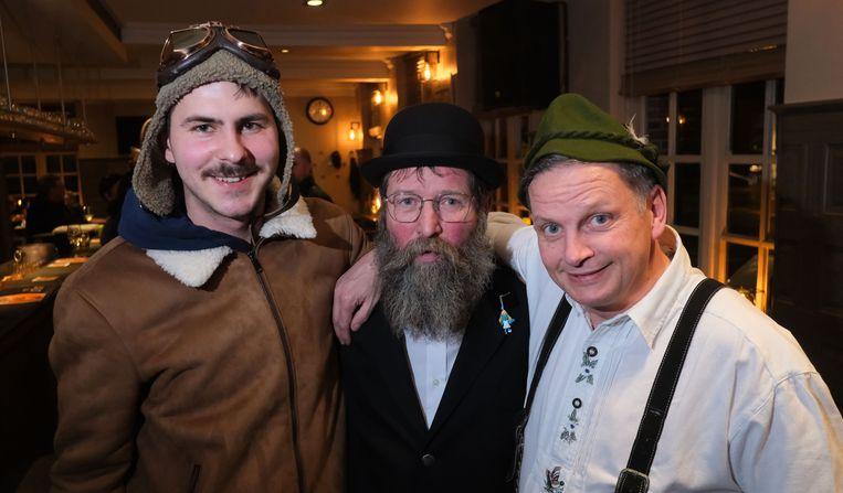 Frank, Stef en Hans zijn er in ieder geval klaar voor.