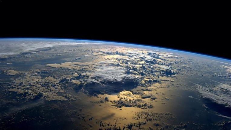 Een van NASA's foto's om Earth Day te vieren. Beeld null