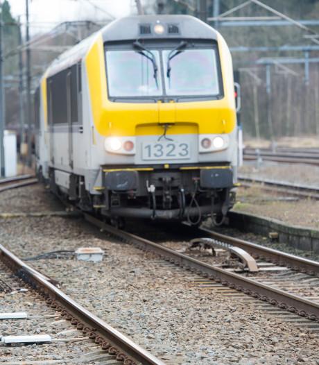 Lugubere grapjas komt onder trein: 'Hopelijk hebben jullie veel vertraging'