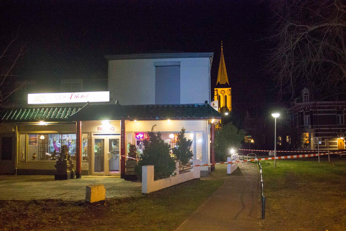 Chinees Restaurant Mijn Vriend aan de Doesburgsedijk in Dieren is zondagavond overvallen.