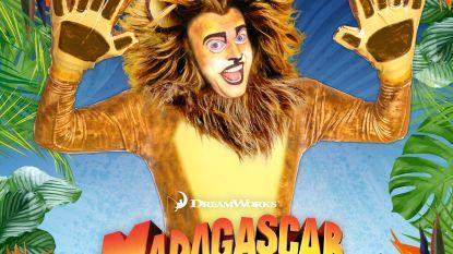 Hasselaar Leendert De Vis schittert in 'Madagascar, de Musical' als leeuw Alex