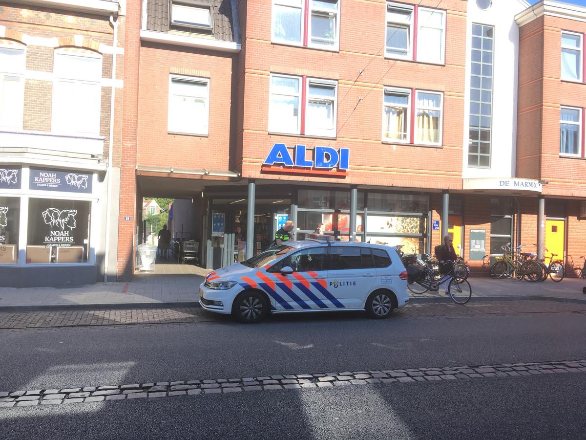 De Aldi aan de Willemsweg in Nijmegen.