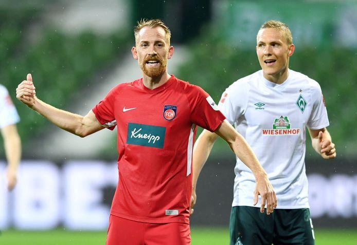 Heidenheim neemt het vanavond in een barrageduel tegen Werder Bremen op voor een plaats in de Bundesliga.