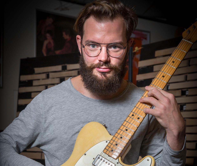 Componist en gitarist Aart Strootman.