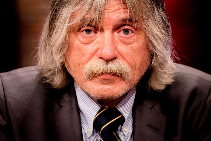 Johan Derksen gaf donderdagochtend bij Evers Staat Op zijn mening over de ophef die afgelopen week ontstond.