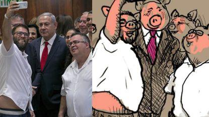 Netanyahu afgebeeld als varken en 3 andere cartoons die evenveel ophef veroorzaakten als spotprent in New York Times