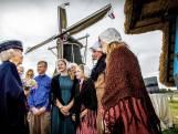 Beatrix bezoekt Achterhoek: 'Die met de bloemetjes, dat is de prinses'