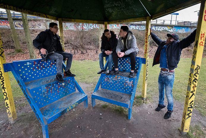 Eindhovense jeugd in Woensel