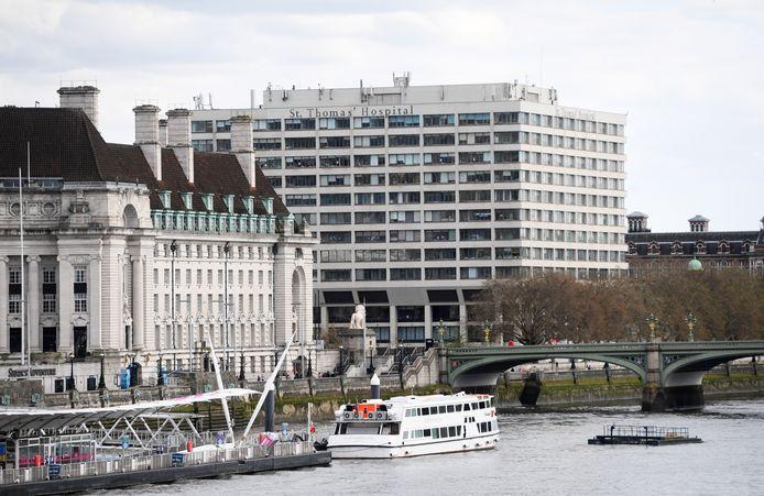 L'hôpital St.Thomas à Londres où le Premier ministre est hospitalisé