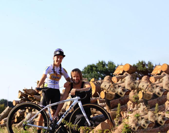Shirin van Anrooij met trainer Marc Herremans.