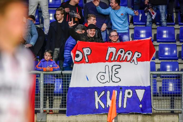 Willem II-supporters willen het weten: hun club staat in de bekerfinale.