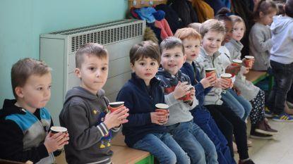 Chocomelk houdt leerlingen warm tijdens Dikketruiendag