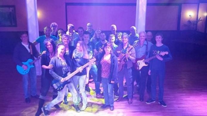 Muzikanten uit heel Berkellland treden zatedragavond op bij Kerkemeijer in Borculo