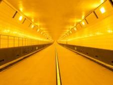 Maastunnel weer open na korte storing