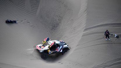 Dakar Loeb en Villas-Boas crashen zwaar