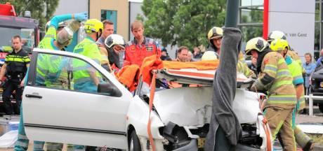 Traumaheli rukt uit naar Veenendaal voor ernstig ongeval