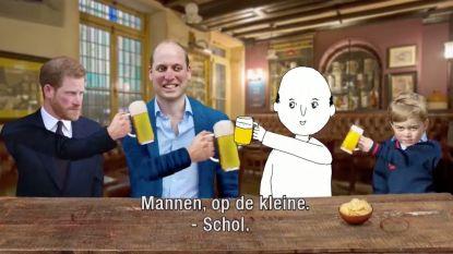 Hilarisch: sociaal incapabele Michiel gaat op bezoek bij de royal baby