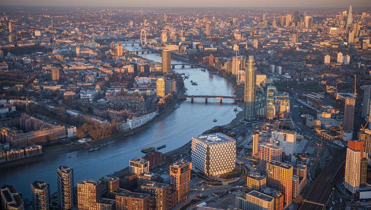 Google Hoofdkwartier Londen : Een suikerklont met slotgracht: de nieuwe amerikaanse ambassade in