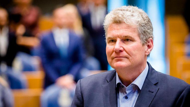 De Groningse PvdA-politicus William Moorlag wordt beedigd als lid van de Tweede Kamer Beeld afp