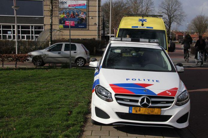Ongeluk tussen auto en fietser in Rijssen
