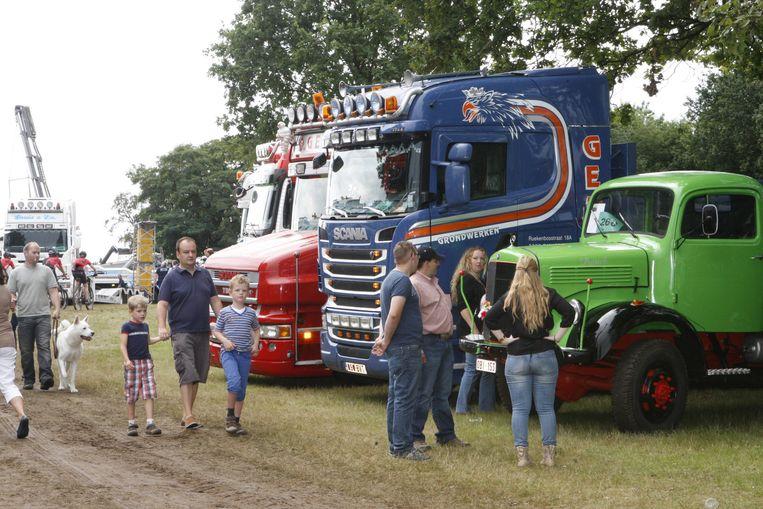 De nieuwe vzw Truckers for Life redt de Truckshow in Bekkevoort van de ondergang.