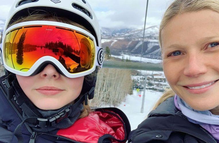 Gwyneth Paltrow krijgt op haar donder van dochter Apple.