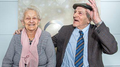 70-jarig jubileum voor Juliaan en Madeleine